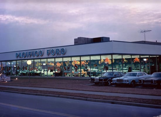 Pacifico Ford Opened As One Of The Original 5 Dealerships