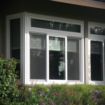 Milgard tuscany white vinyl windows yelp for Milgard fiberglass windows reviews