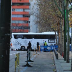 Real Madrid bus