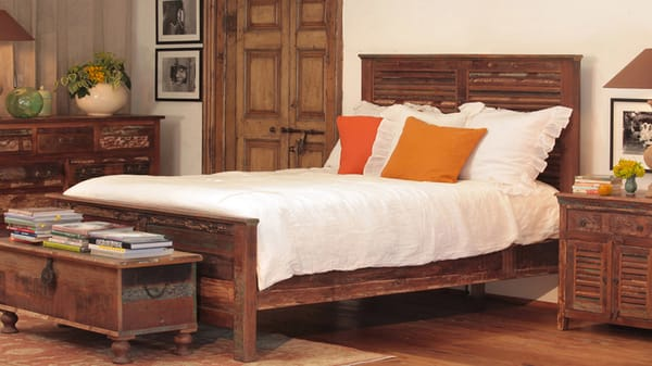 Nantucket reclaimed wood bedroom set. King, queen and twin