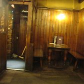 a rustic corner of the pub