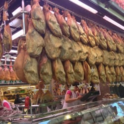 I am in Jamon heaven!