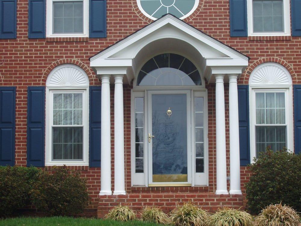 14 Artistic Colonial Porch Architecture Plans 83271