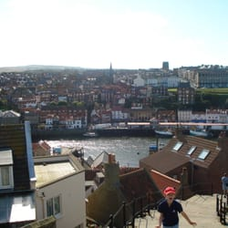 Whitby Harbour and Lighthouses, Whitby, North Yorkshire