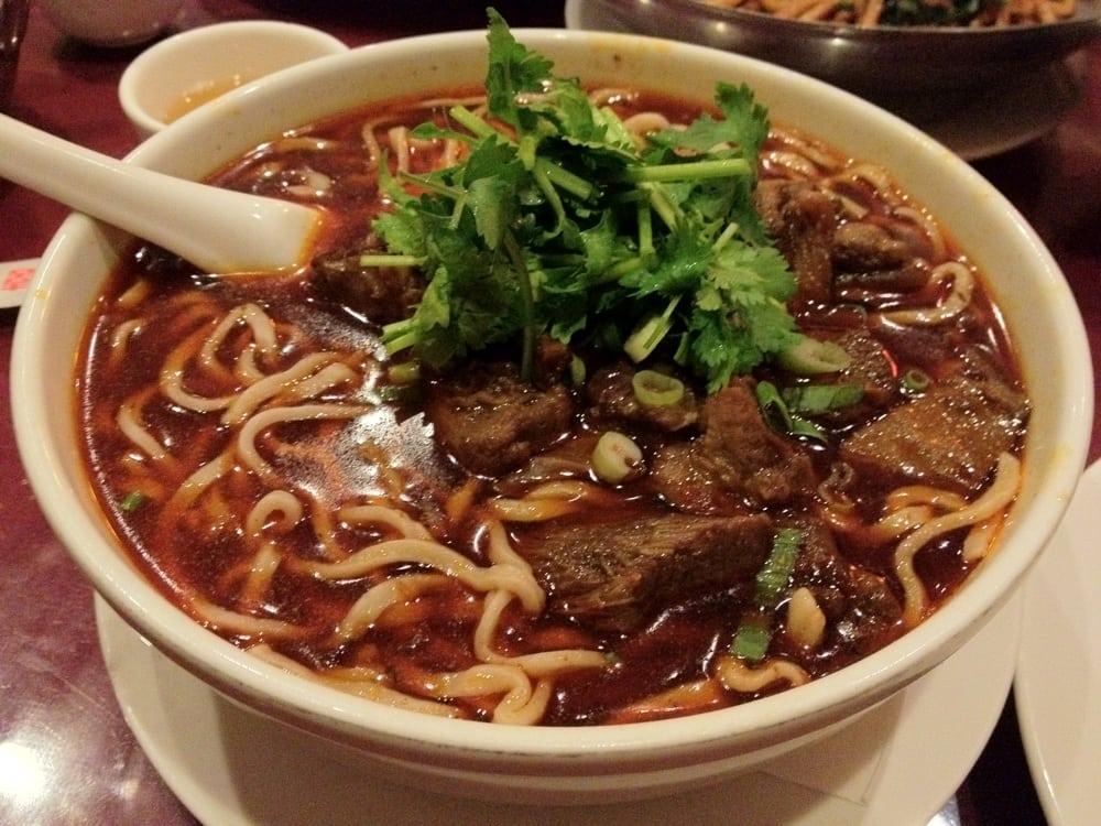 Szechuan beef noodle soup | Yelp