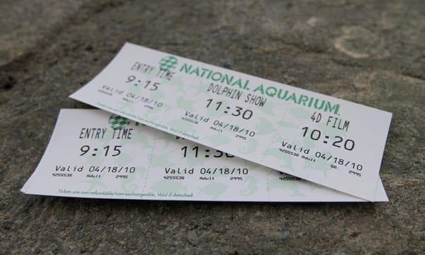 Baltimore Aquarium Tickets | Yelp