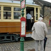 passenger in Crich