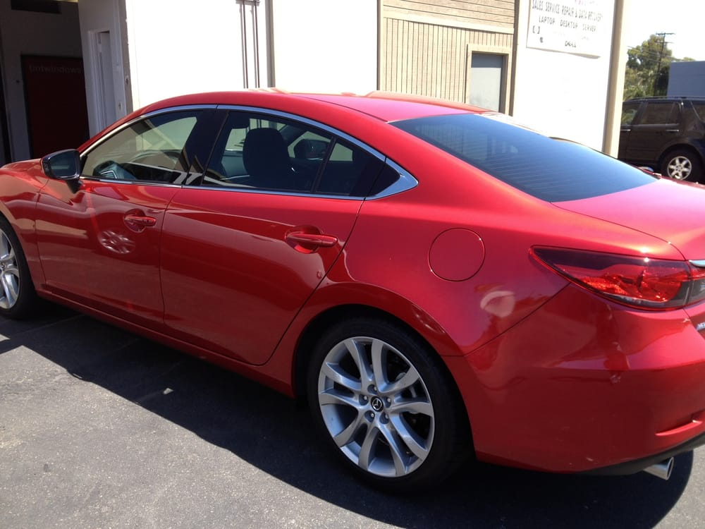 35 window tint on 2014 mazda 6 by tintwindows yelp for 2 5 window tint