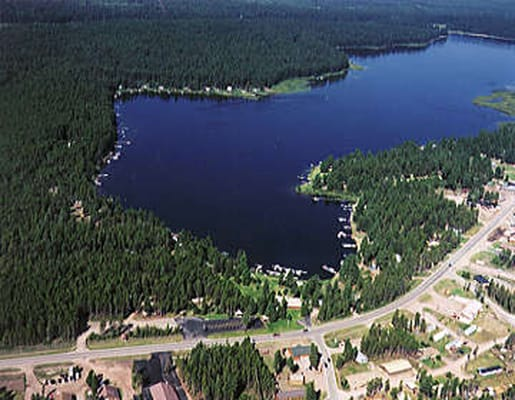 Aerial View Of Seeley Lake Yelp