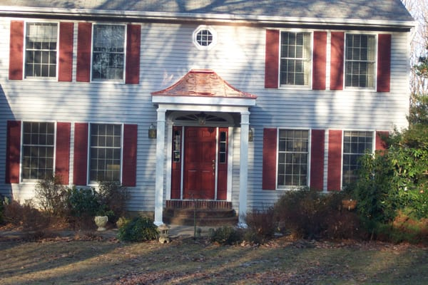 From A Plain Entrance To A Beautiful Inviting Portico With