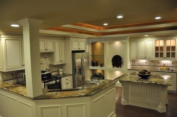 Countertop Linen Cabinet : country linen cabinets with granite counter tops Yelp