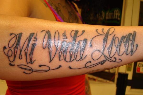 mi vida loca my crazy life tattoo by bear yelp