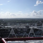 View of the Olympic Stadium from The Orbit