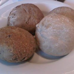 assorted warm bread rolls