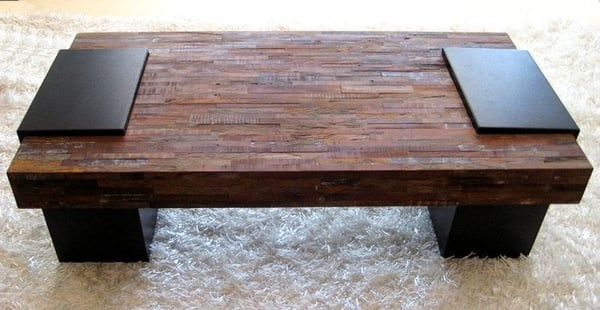 Reclaimed Peroba wood Coffee table Environment friendly