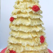 Love to Cake Lace wedding cake