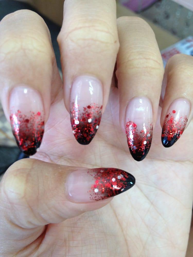 Nicki Minaj Pointy Nail Designs
