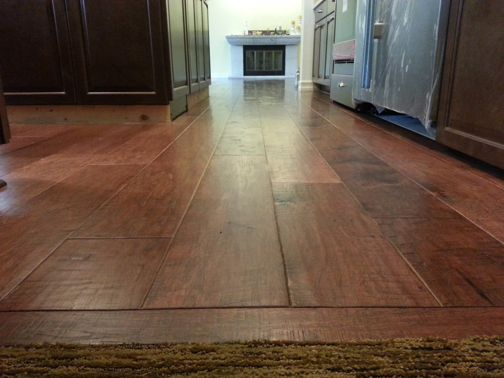 This is a 39 distressed 39 wide plank hickory floor very for 0 floor