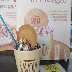 Gianduiotto-- chocolate ice cream and…