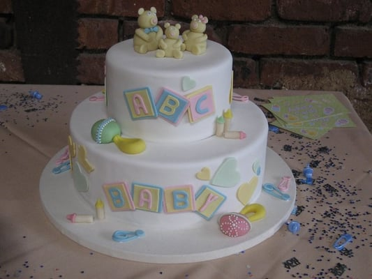 Baby Shower Gift Cake Delicious Bakery