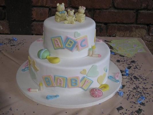 custom baby shower cake - so delicious!
