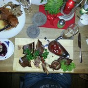 Big spare rib form bayern Ox / duck