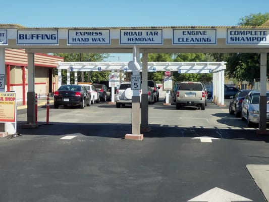 Sacramento Car Wash Interior