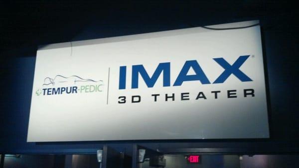 Verizon IMAX 3D Theater at Jordan's Furniture Cinema
