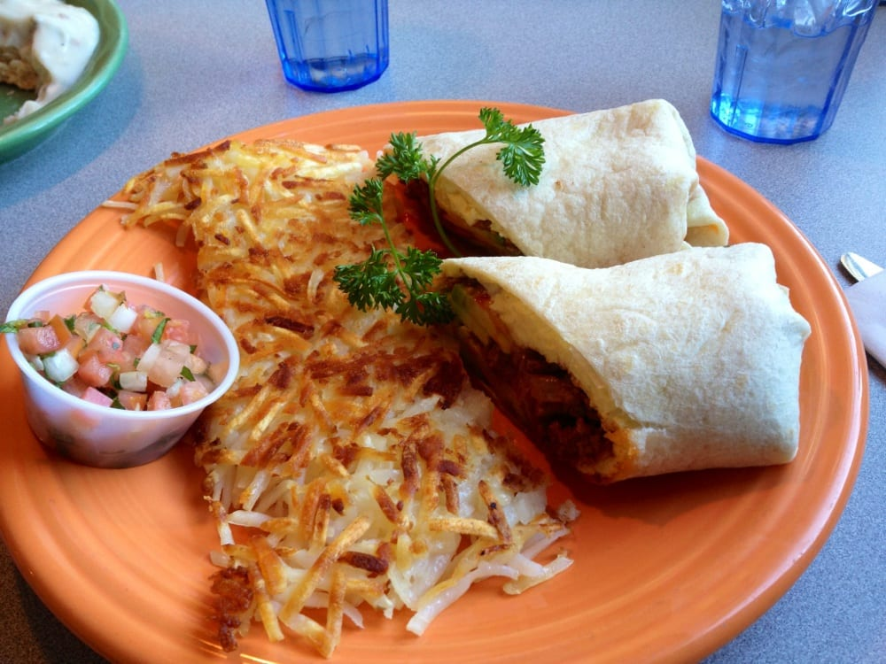Chorizo breakfast burrito | Yelp