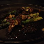 Asparagus with morels. Really good