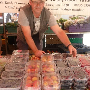 Fresh summer fruits direct from Fiveways Fruit Farm in Essex