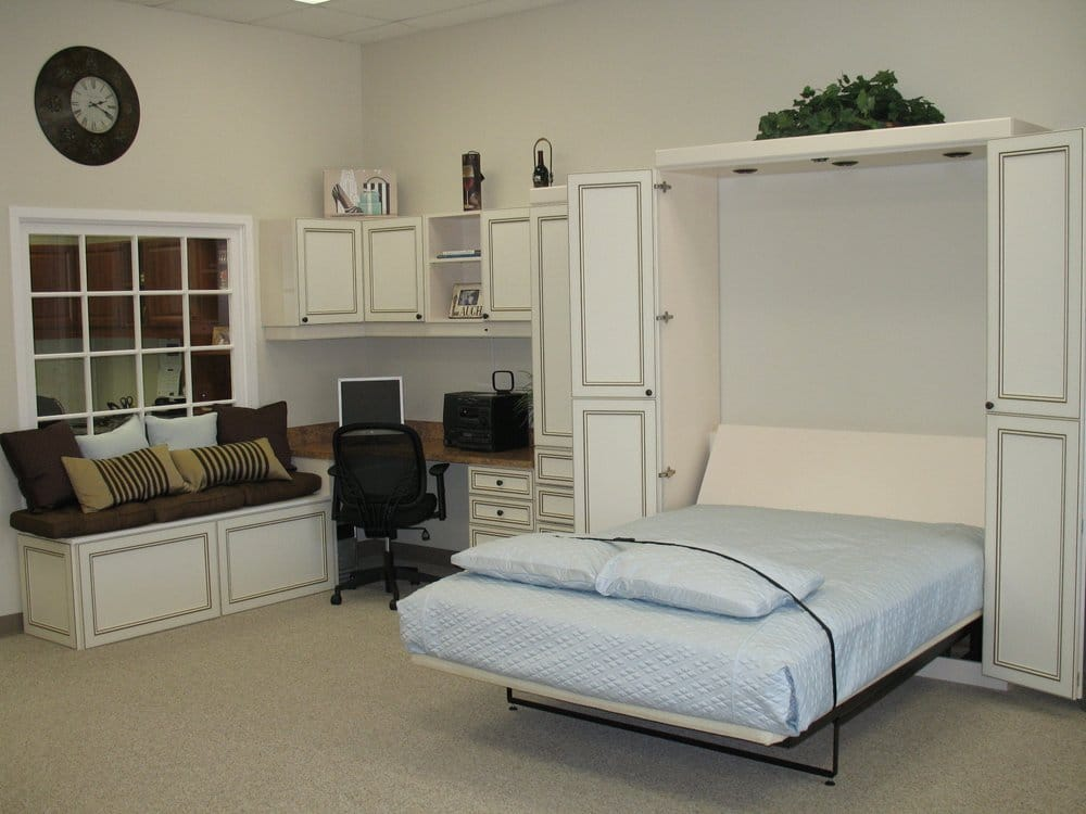Murphy Bed With Home Office : Bifold murphy bed home office and window seat yelp