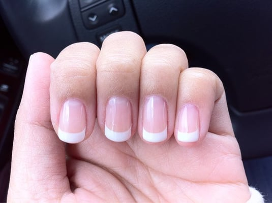 Manicure with Gel French tip | Yelp