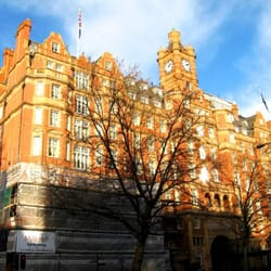Landmark Hotel, formerly the Great Central Hotel, from the Marylebone Road