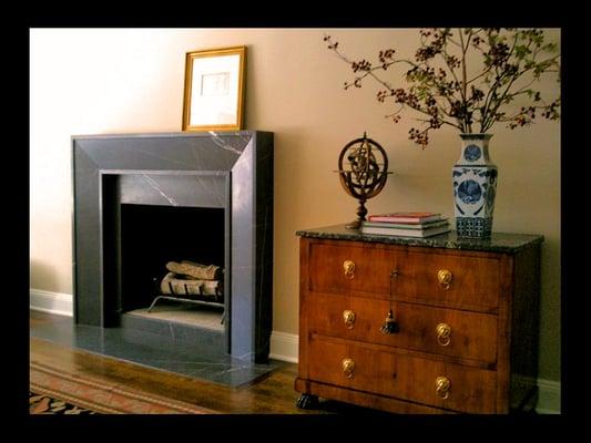 Graphite Marble Fireplace Surround Yelp