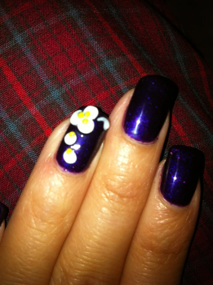 Shellac Nails w/ 3D design | Yelp