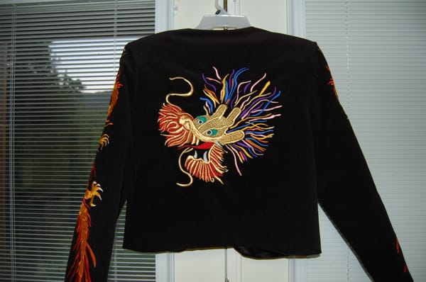 Custom embroidered quot jimmy page costume jacket yelp