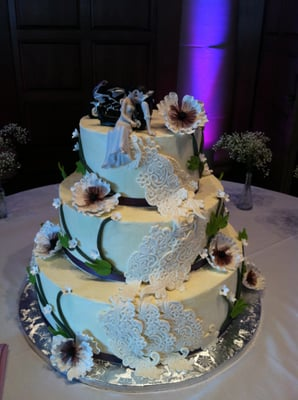 wedding cakes for 200 guests