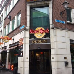 Entrance of the Hard Rock Cafe