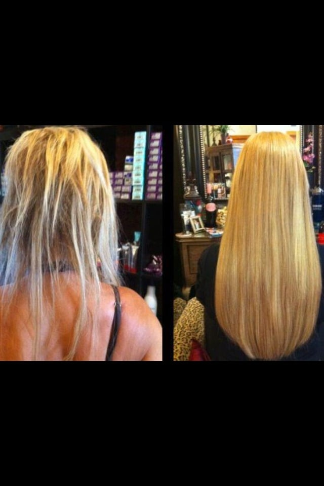 Hair Extensions Before After Yelp