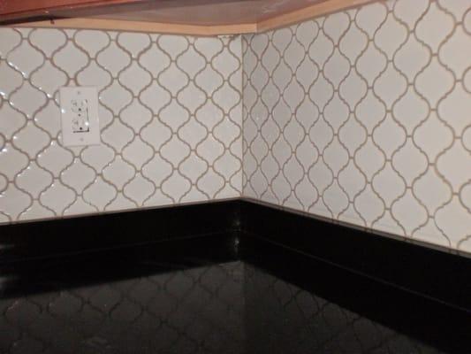 custom teardrop tile backsplash yelp
