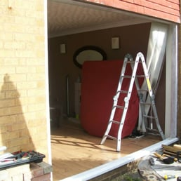 fitting a new patio door