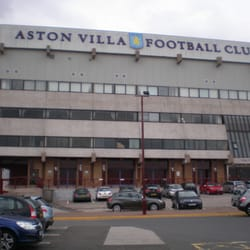 Aston Villa Football Club, Birmingham, West Midlands