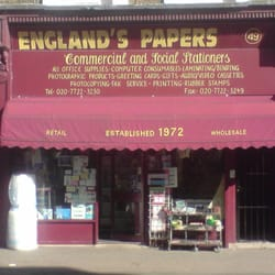 Englands Papers, London