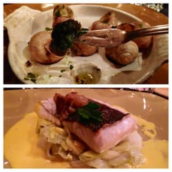 Two courses from the prix fixe