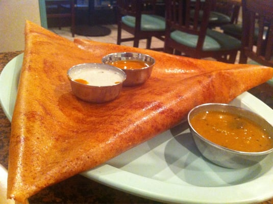 Mysore masala dosa yelp for Annapurna cuisine culver city