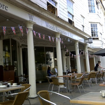 Woods Restaurant and Bar, The Pantiles, Tunbridge Wells