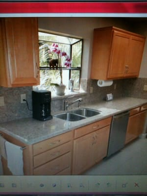 Quartz Countertops With Full Height Backsplash Brand