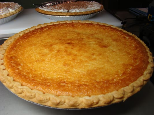 egg custard pie truly something to quench any sweet tooth