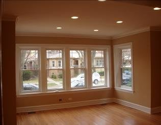 Living Room Windows on Living Room Remodel New 1 4  Drywall Overlay New Can Lights And